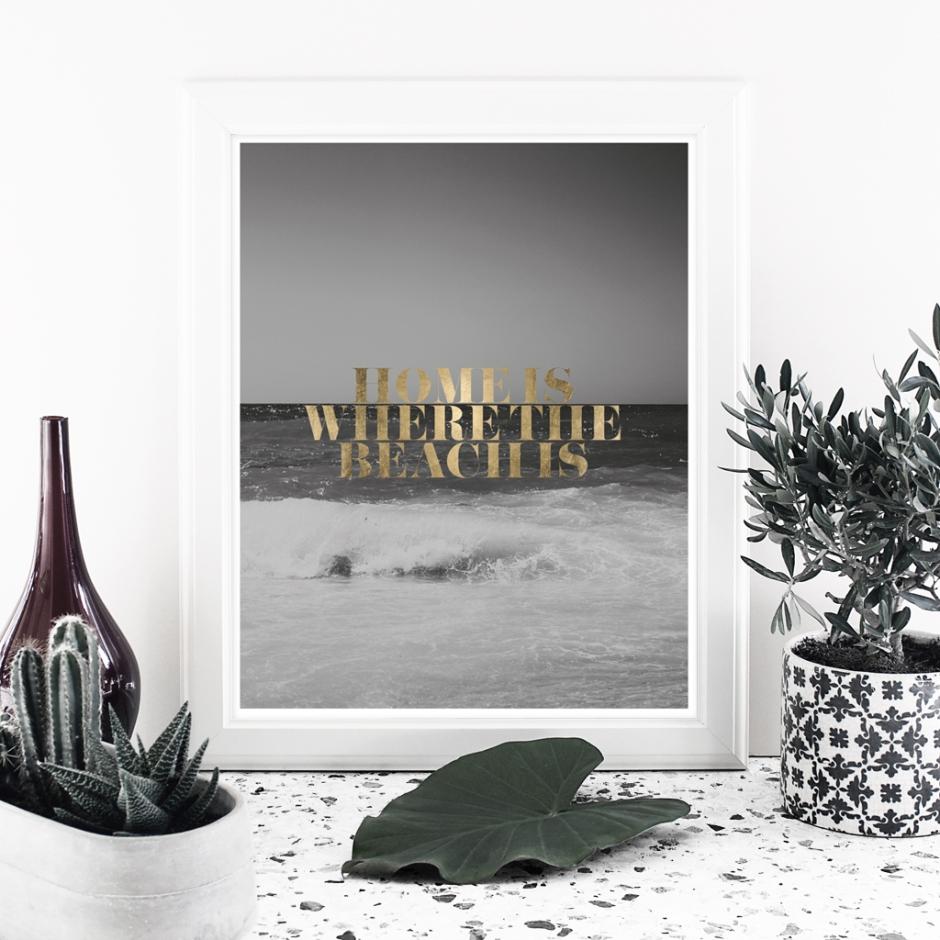 Digital files frame_black home