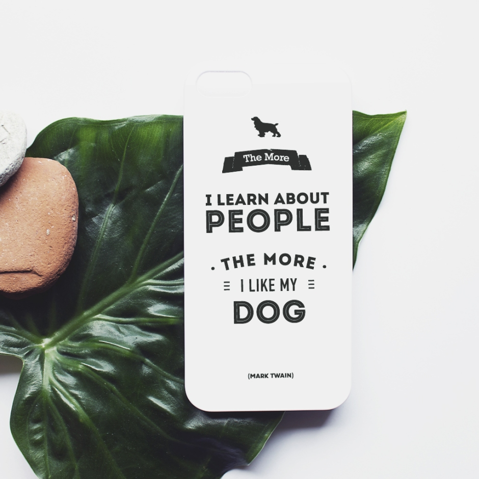 iphone case cover_leaf_dog