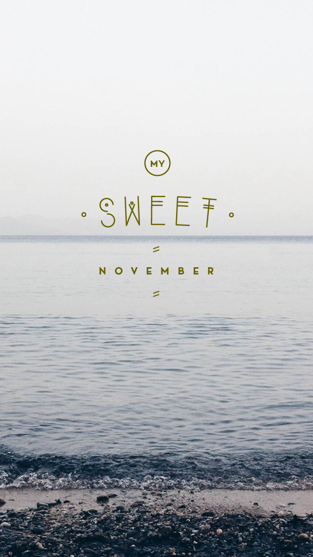 iphone 5 november wallpaper