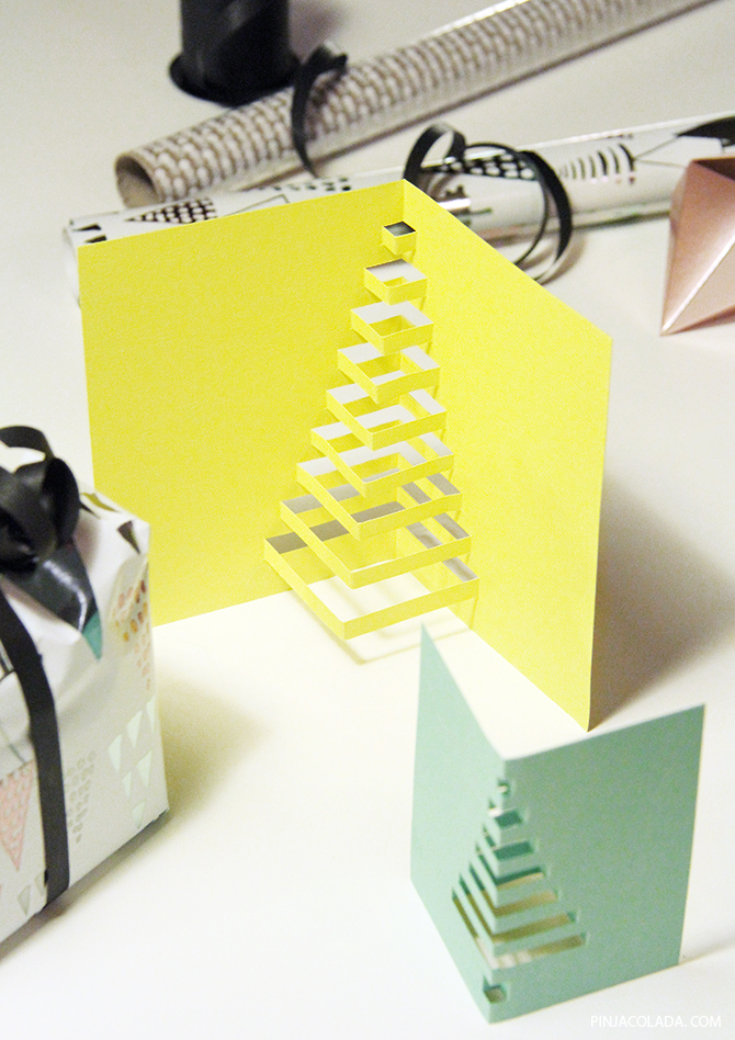 christmas card diy 01 Pinjacolada