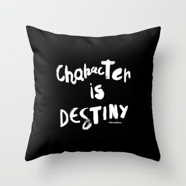character-is-destiny-heraclitus-pillows