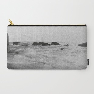 greek-seascape-black-and-grey-sea-rocks-ionia-island-lefkada-carry-all-pouches