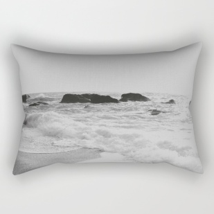 greek-seascape-black-and-grey-sea-rocks-ionia-island-lefkada-rectangular-pillows