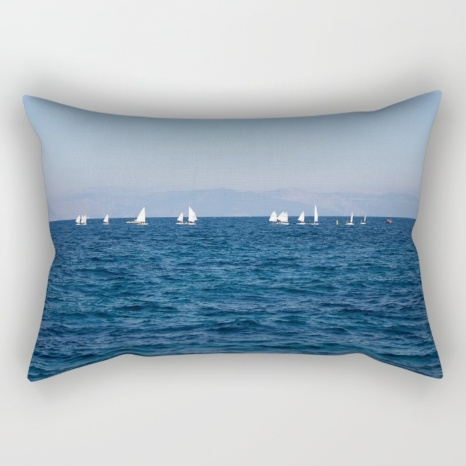 minimal-blue-mediterranean-sea-rectangular-pillows
