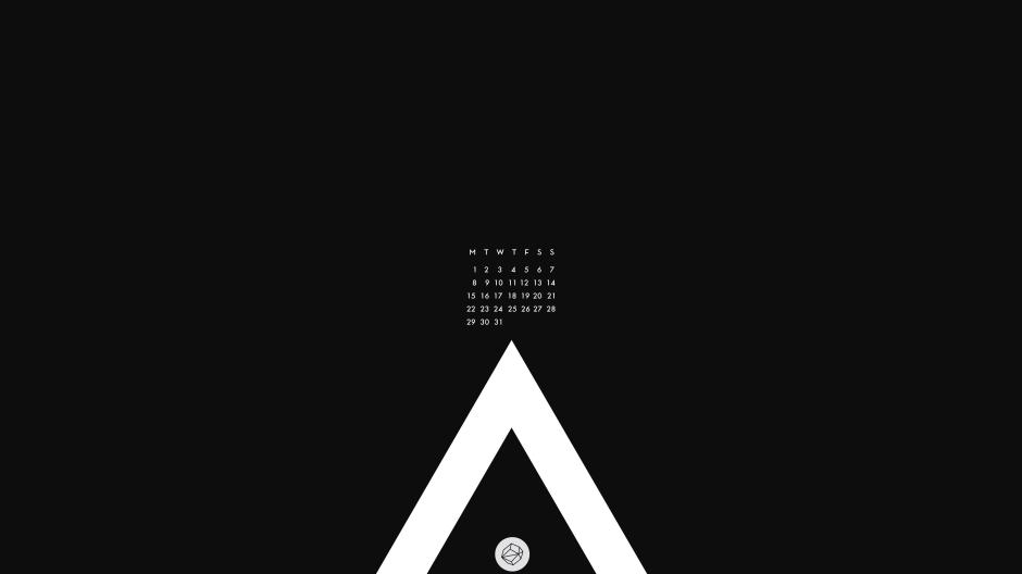 August wallpaper_black