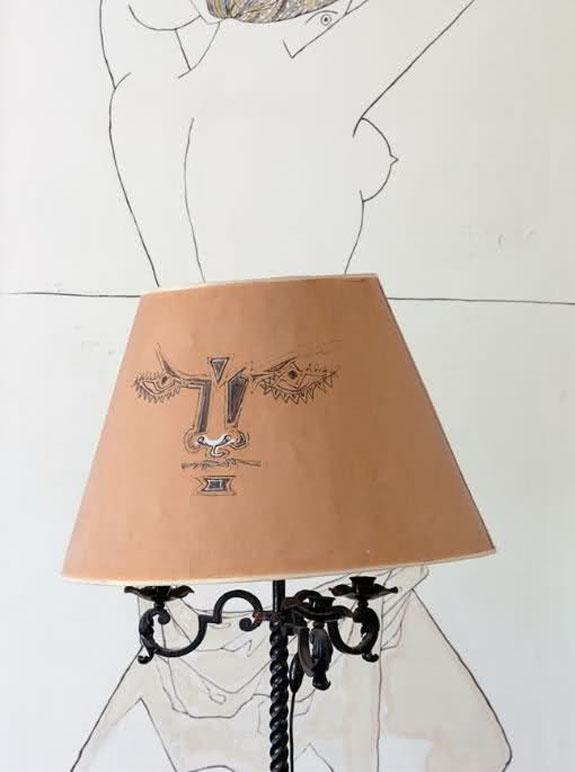 Jean-Cocteau-lamp