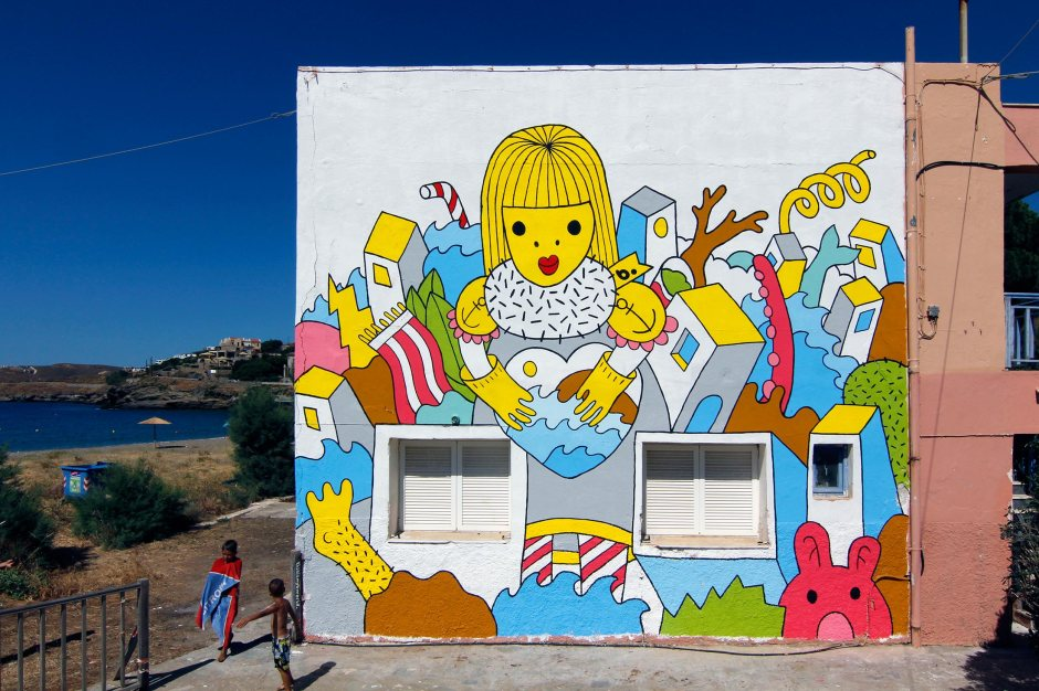 Tzia-Mural